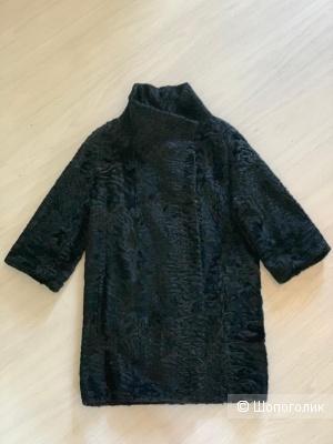 Меховое пальто Santini, размер 36 it.