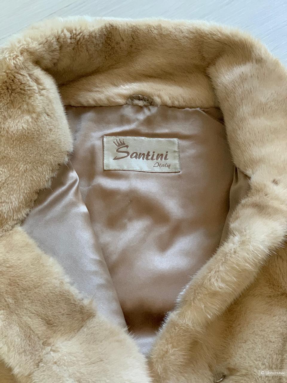 Норковая шуба Santoni, размер 36 it.