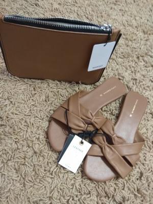 Комплект- сандалии  и сумочка Zara Mango 36 размер
