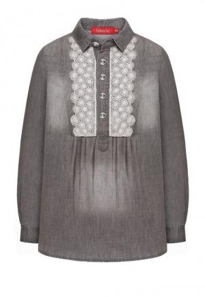 Джинсовая блузка для девочки Faberlic, р.146