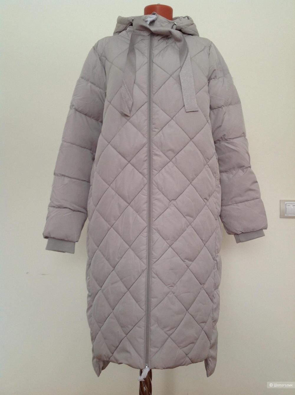 Пуховик пальто ODRI mio, размер 46 IT, на 48-50-52