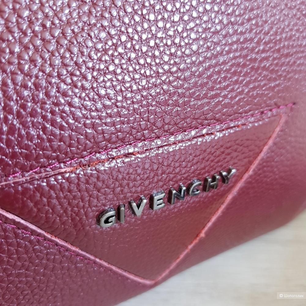Сумка Givenchy хобо (красное вино)