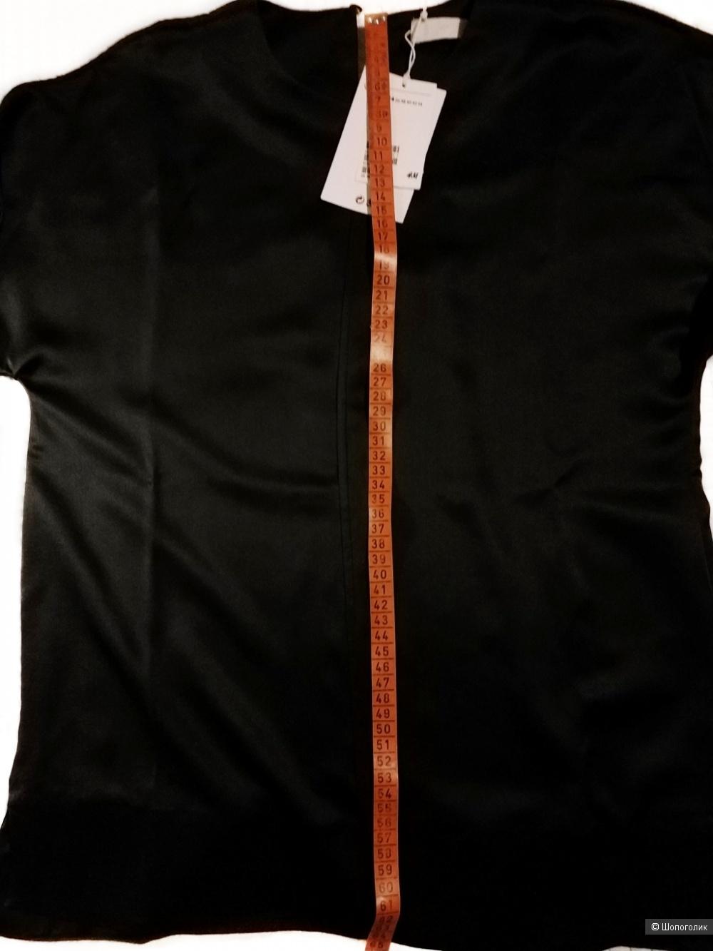 Блузка из натурального шёлка H & M Premium Quality размер 34