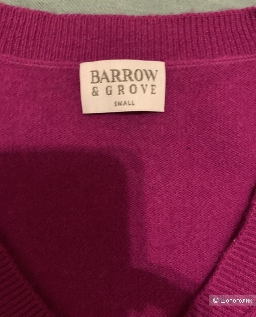 Кашемировый джемпер  BARROW & GROVE, S (идёт на M или L)