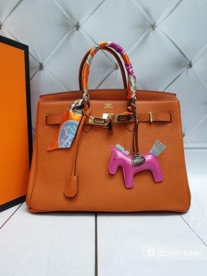 Брелок и платок на сумку Hermes