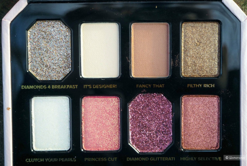 Палетка too faced pretty rich