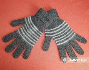 Мужские шерстяные перчатки, large.