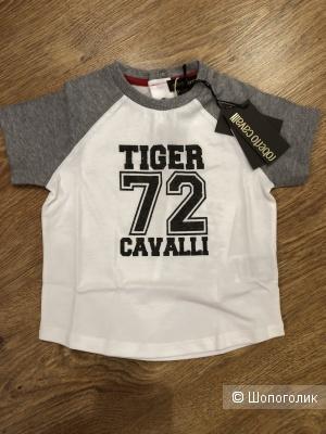 Футболка Roberto Cavalli на малыша, размер 12 месяцев