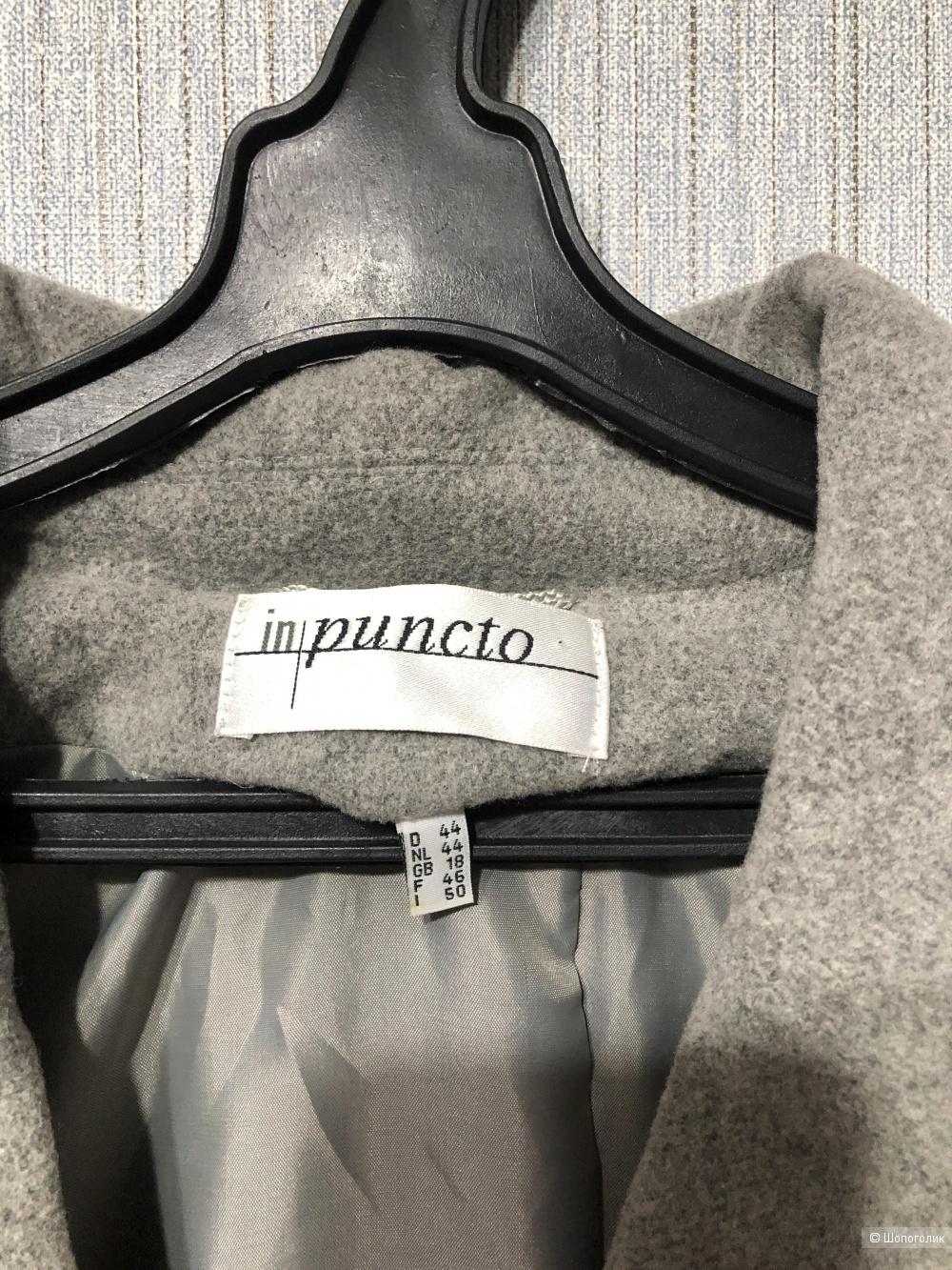 Пальто In Punto размер 48/50/52