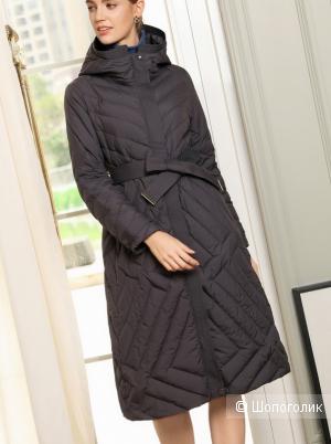 Стеганое пальто no name. 48-50 размер.