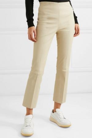 Кожаные брюки By Malene Birger, размер 40