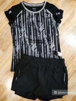 Сет футболка и шорты crivit размер М