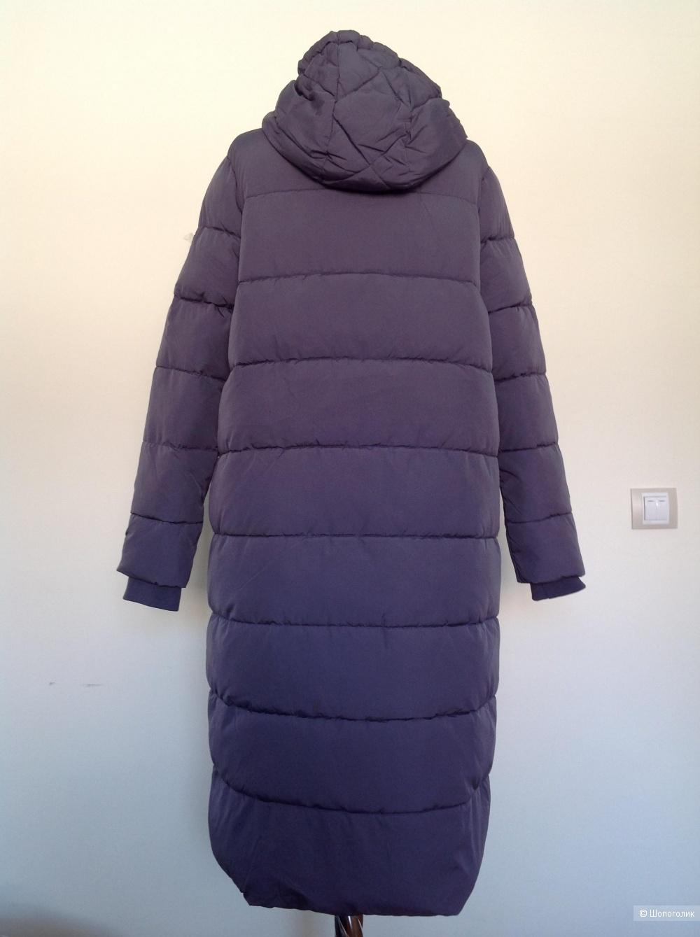 Пальто пуховик Odri, размер 42it/44ru, на 44-46-48