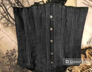 Корсет с металлическими рёбрами жесткости 38 размер