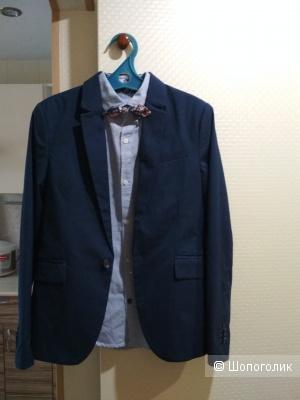 Сет рубашка next + пиджак hm размер 10/11 лет