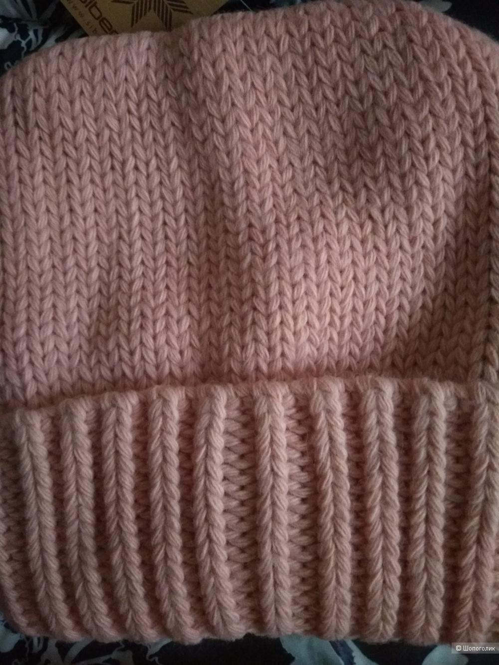 Комплект  Siberika, шапка Хана 54-57 р-р, снуд Локи р. 60*30.