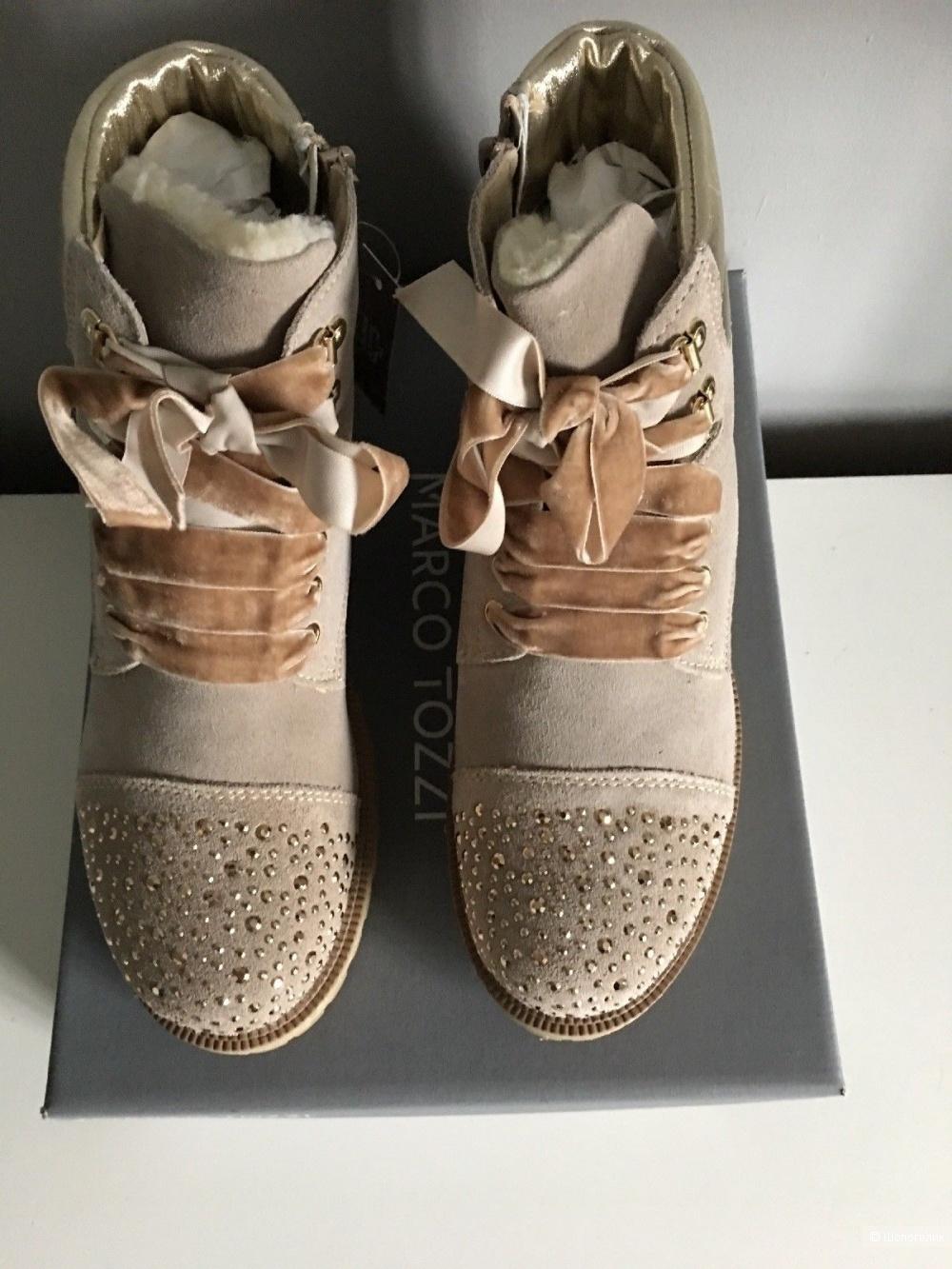 Зимние ботинки Marco Tozzi размер 38