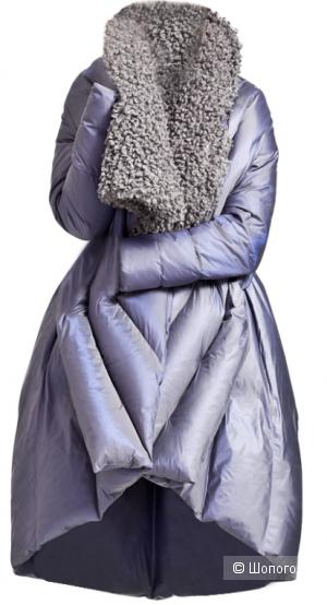 Пуховик черного цвета, Eva Freedom, размер M-L