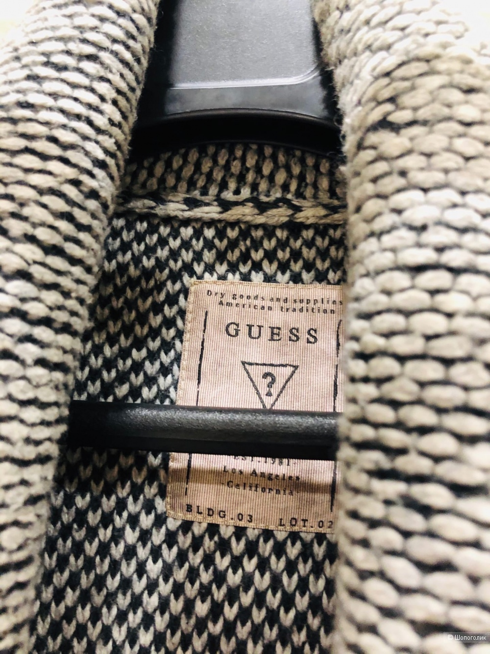 Кардиган GUESS Los Angeles.Размер XL.