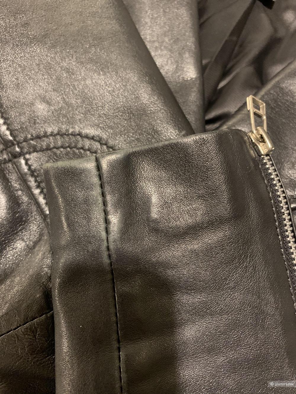 Кожаная куртка Mango, размер xs