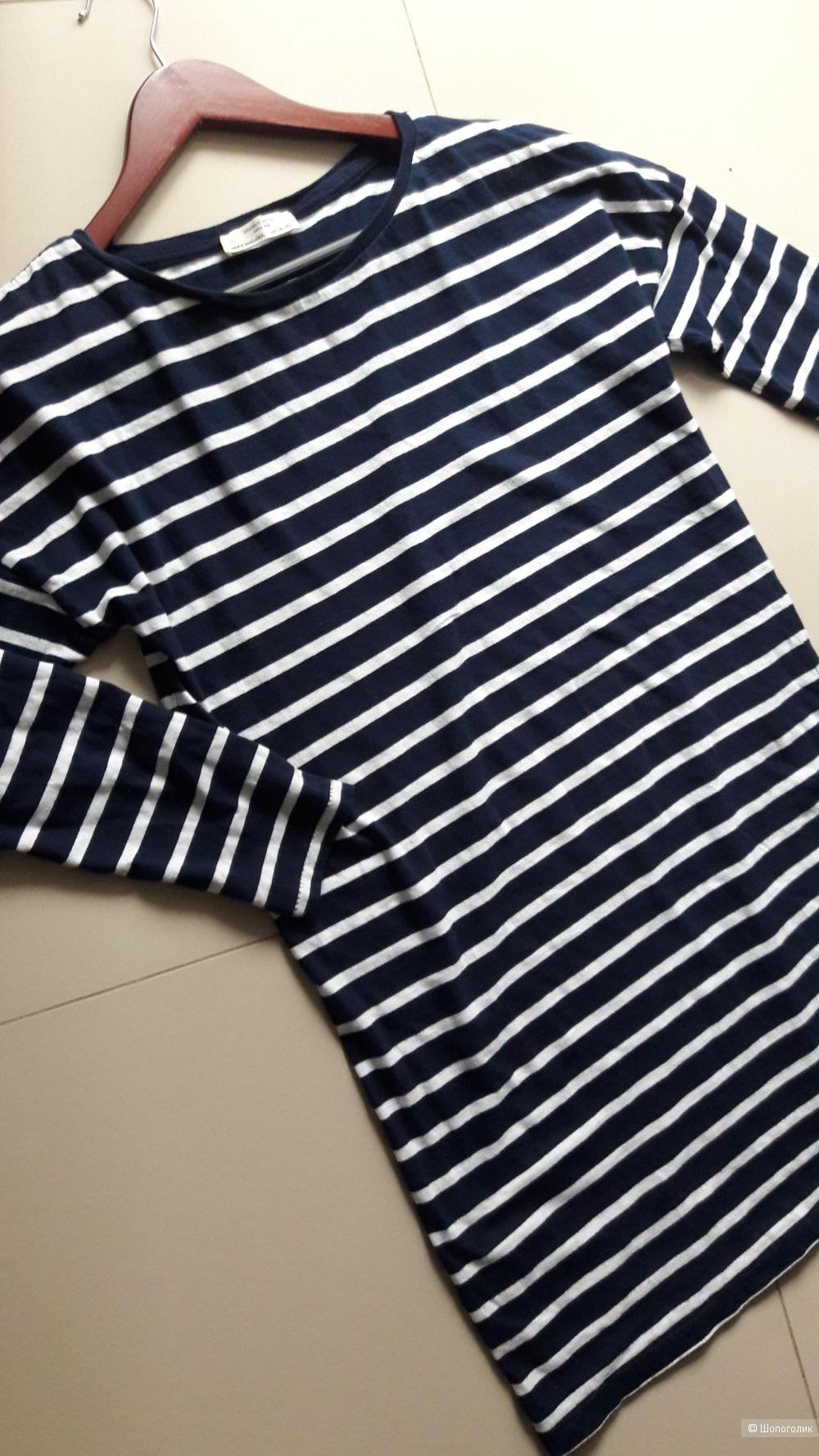 Платье-футболка Zara, размер 26