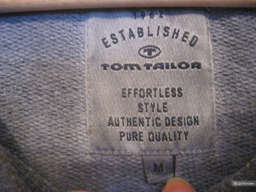 Толстовка/ свитшот, Tom Tailor, 48 размер