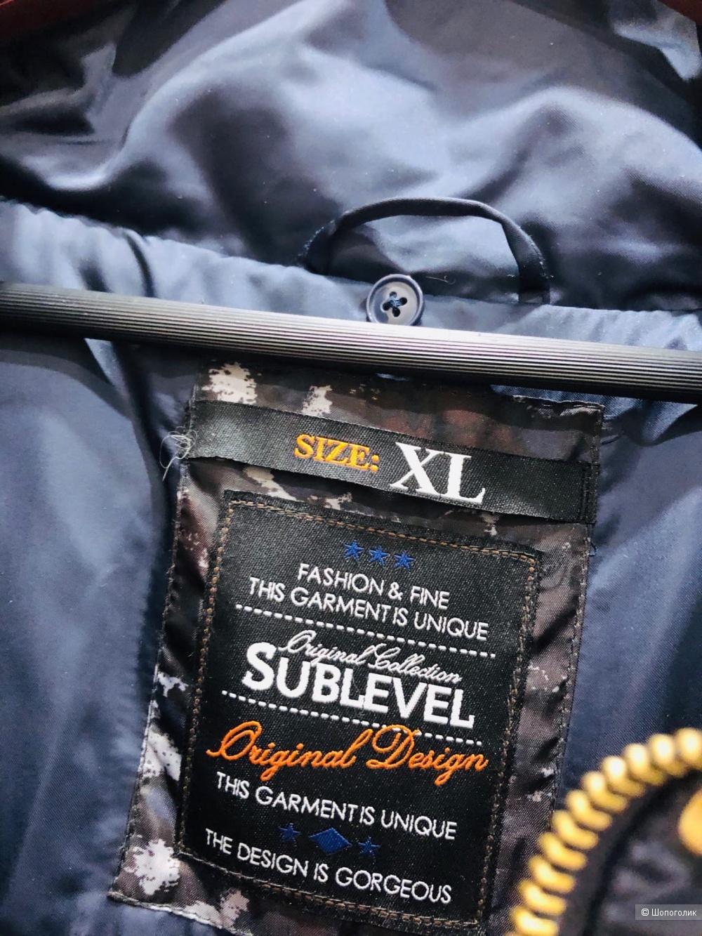 Пуховик SUBLEVEL.Размер XL.