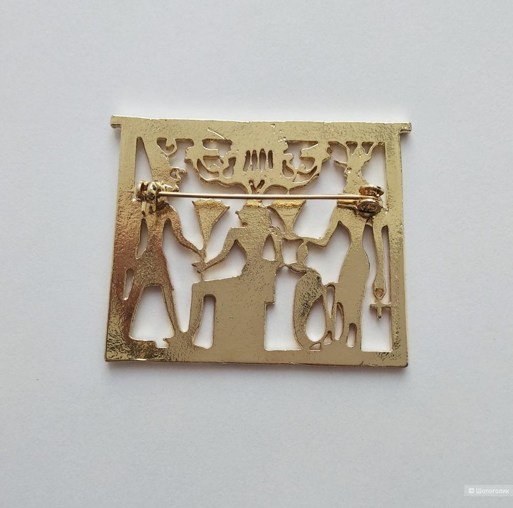 Брошь. Египетские Боги.