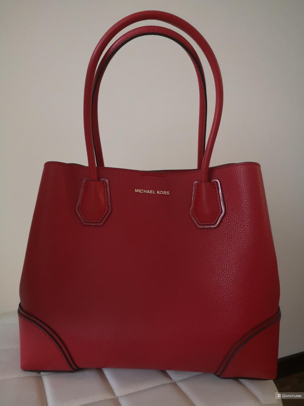 Красная сумка Michael Kors