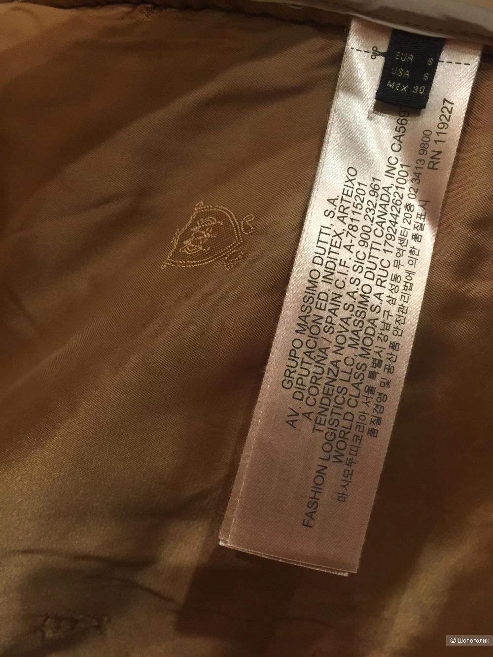 Стеганная куртка Massimo Dutti S-ка (42-44)