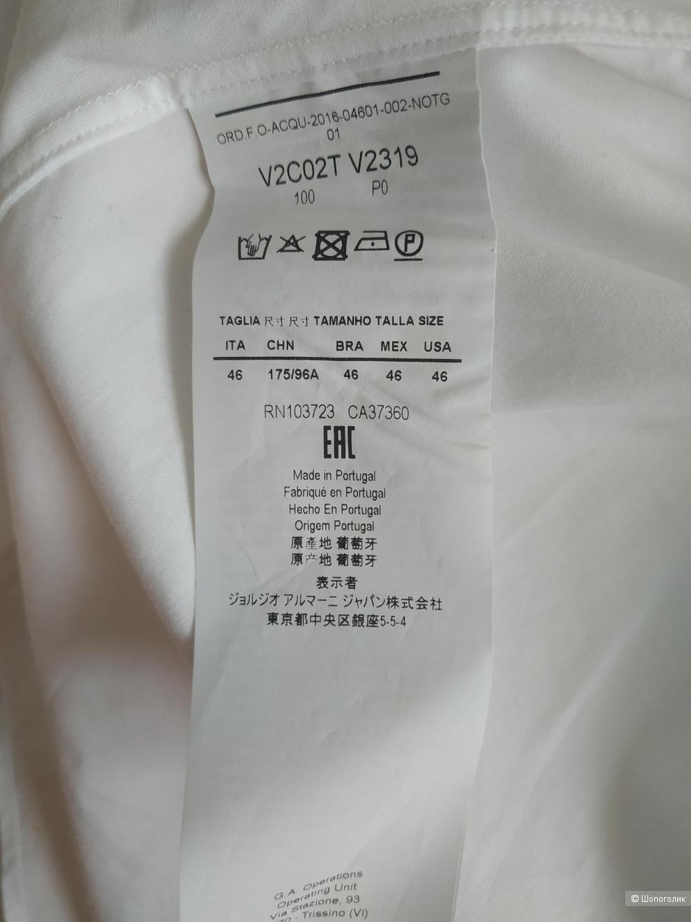 Рубашка Emporio Armani, размер XL