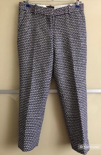 Шелковые брюки J Crew,0US