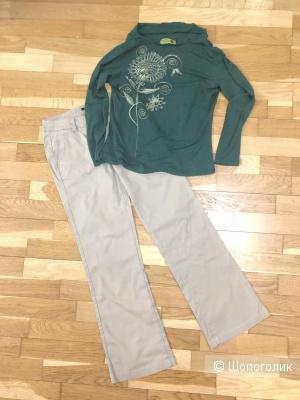 Сет из двух вещей брюки и кофточка 42-44 р