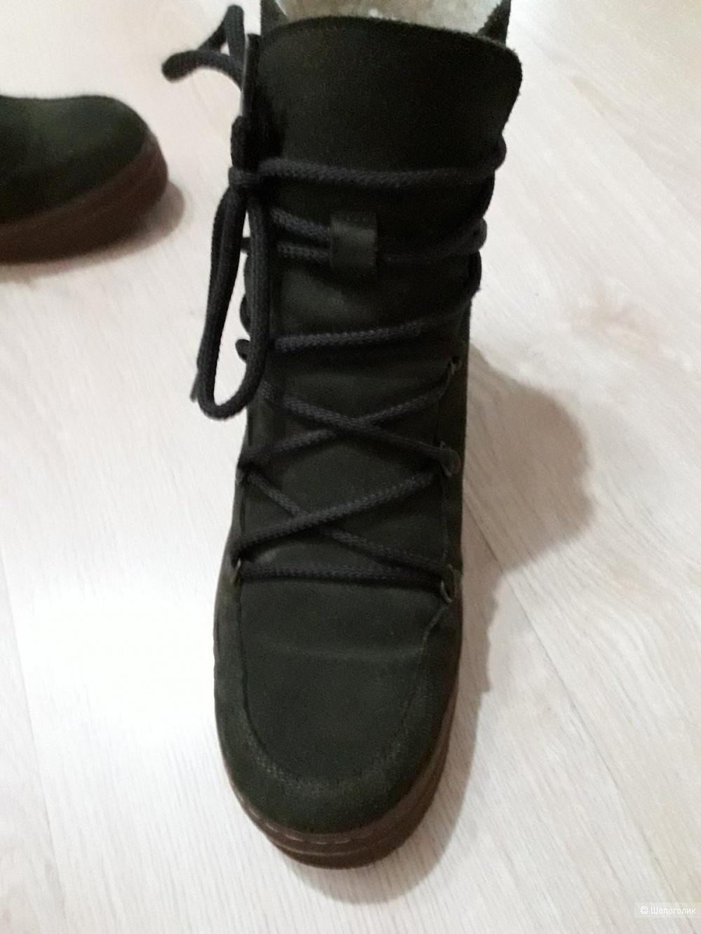 Ботинки Billi bi, длина стельки 25-25.5 см