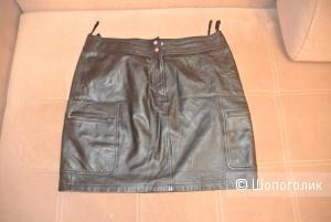 Кожаная юбка Apart 50 44 европейского размера (50 российский)