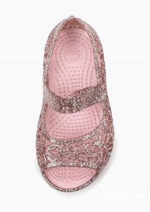 Босоножки Crocs Isabella Glitter р.C7(23/24)