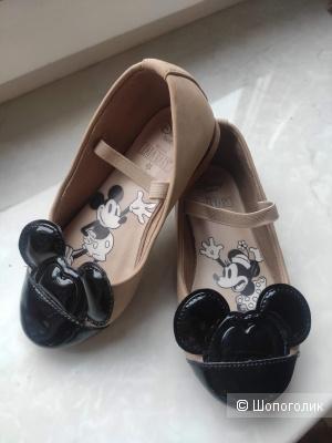 Туфли детские Zara Mini Mouse детские 23-24