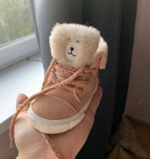 Ботиночки Zara Baby, размер 18