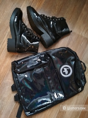 Сет рюкзак hype+ботинки hm размер 39