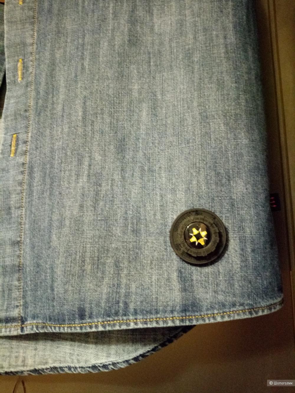 Рубашка ROBERTO CAVALLI DEVILS, размер 48 рос
