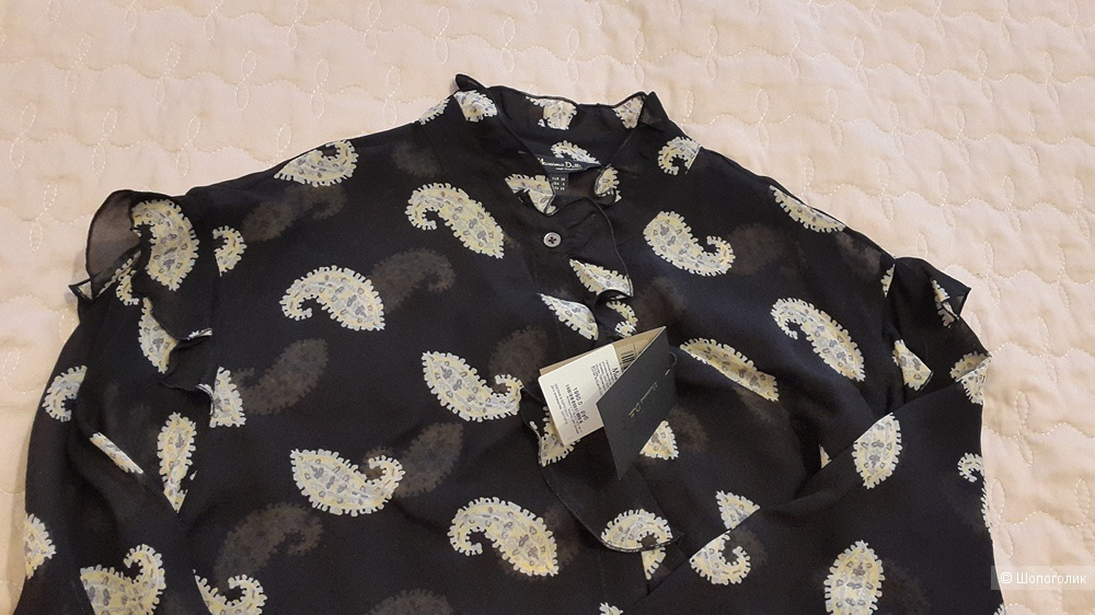 Рубашка Massimo Dutti М-L 38 разм.