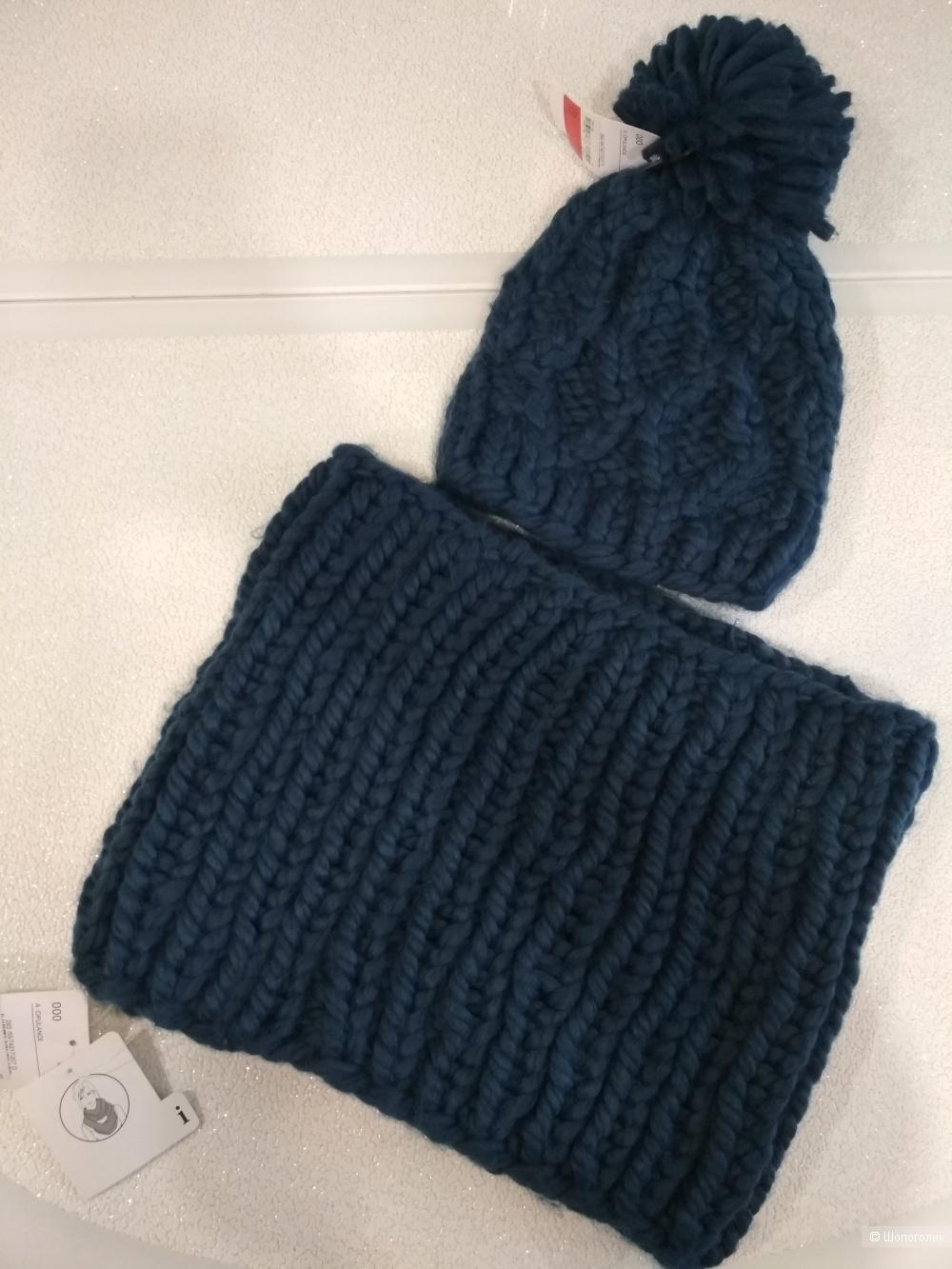 Сет шапка и снуд C&A размер one size