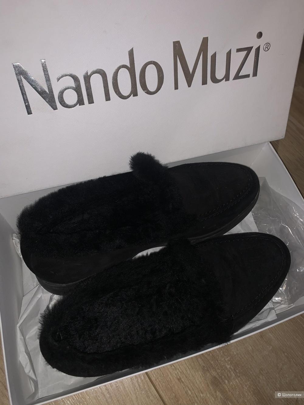 Полуботинки (лоферы) Nando Muzi на 35-36