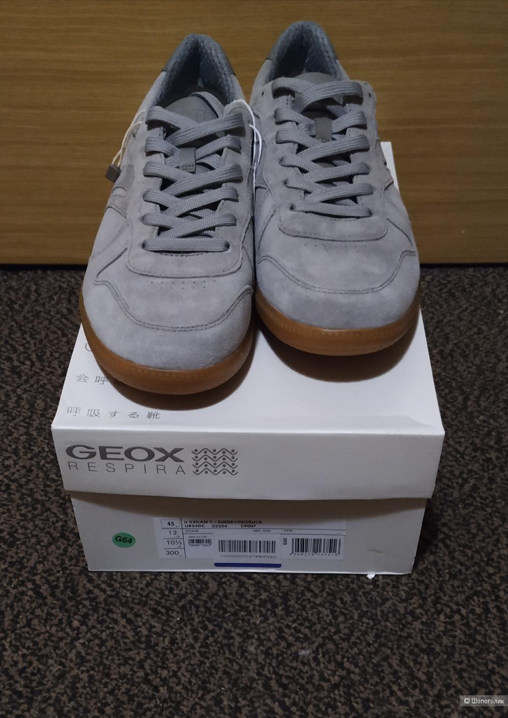 Кеды geox 45 размера