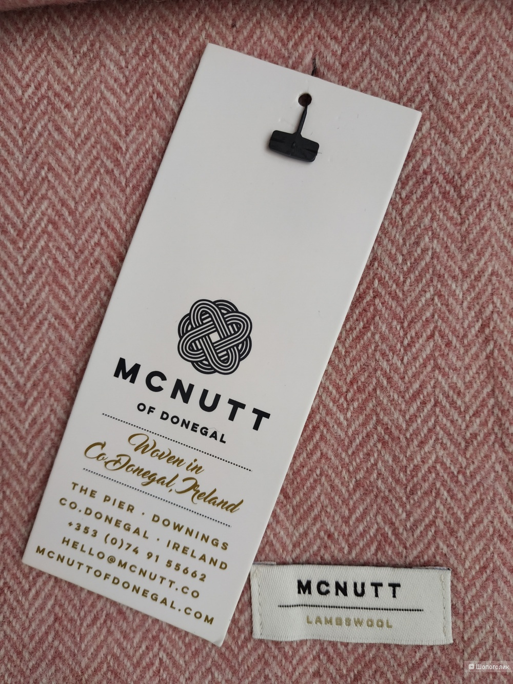 Шарф  McNutt of Donegal one size