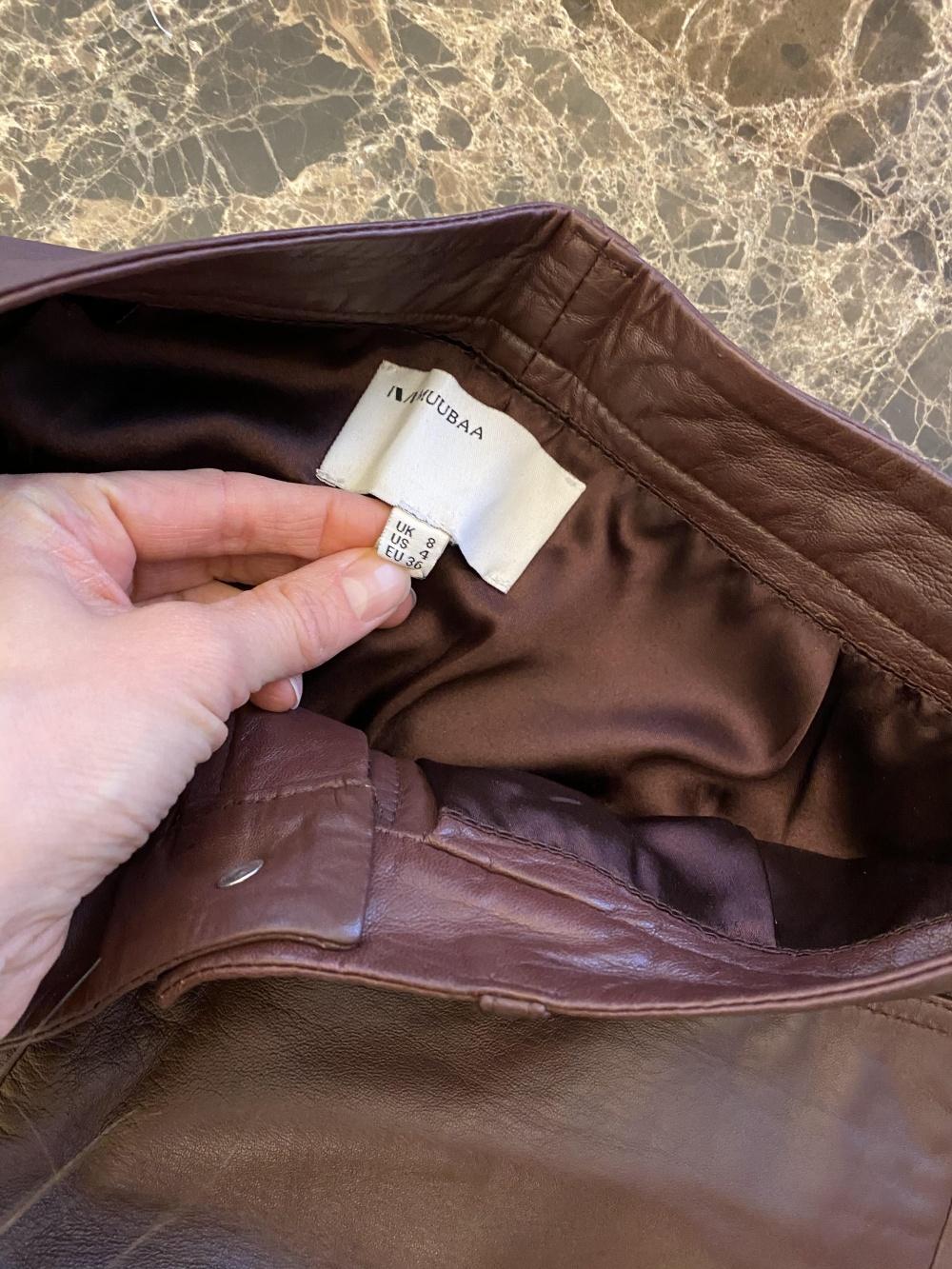 Кожаные брюки Muubaa 8uk