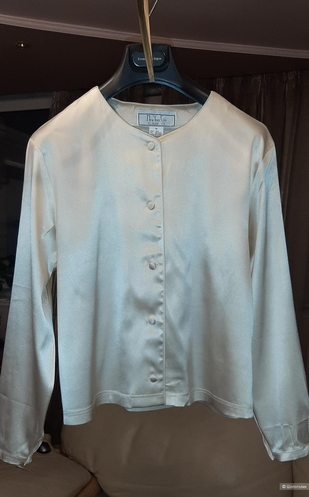 Шелковая блуза New York, М