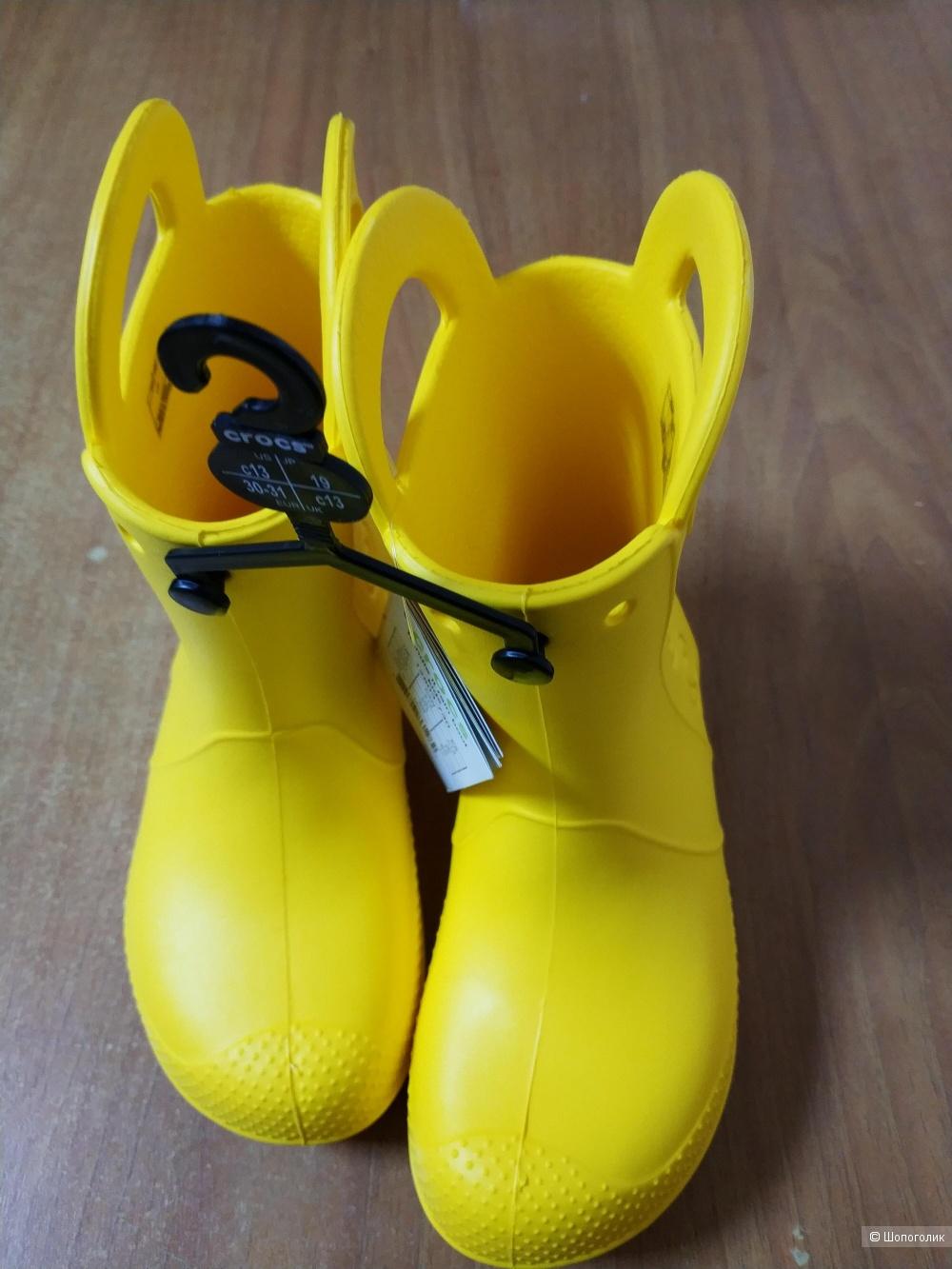 Сапоги Crocs размер C13 (30-31) на на 29-30
