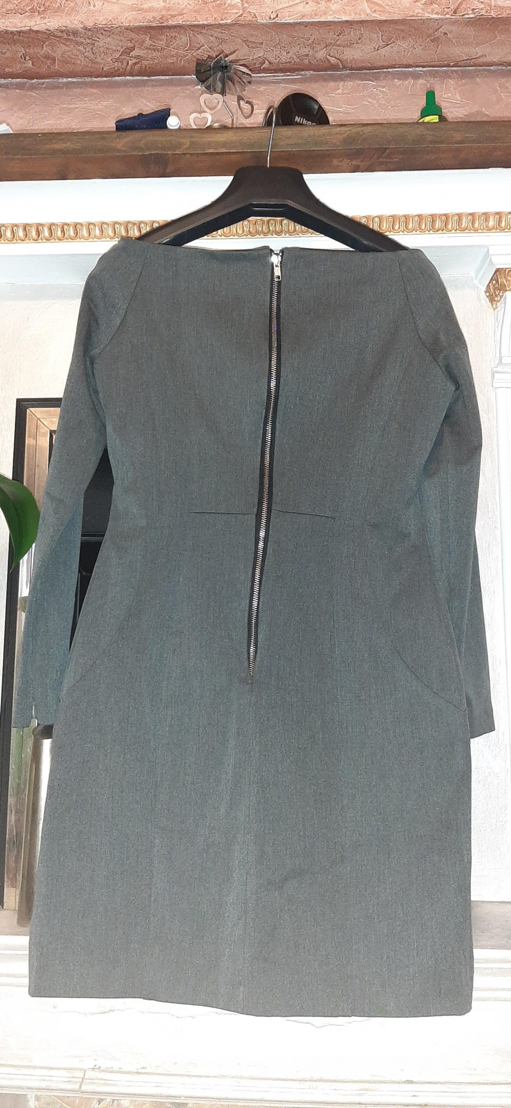 Платье-футляр, no name, М-L