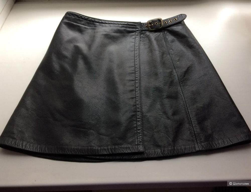 Кожаная юбка Melarena размер 42-44